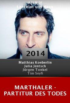 Watch Marthaler - Partitur des Todes online stream