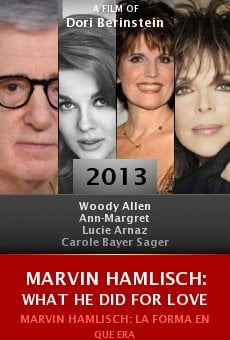 Ver película Marvin Hamlisch: What He Did for Love