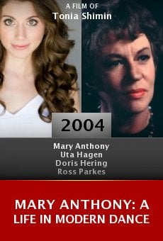 Mary Anthony: A Life in Modern Dance online free