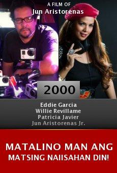 Matalino man ang matsing naiisahan din! online free