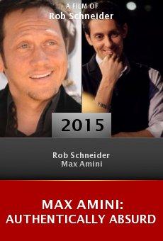 Watch Max Amini: Authentically Absurd online stream