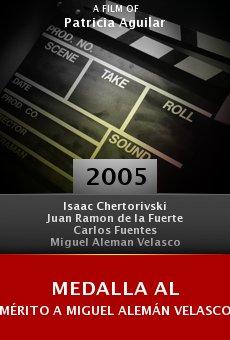 Medalla al mérito a Miguel Alemán Velasco, otorgada por fundación UNAM online free