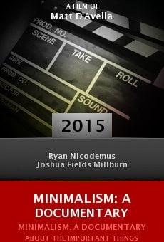 Ver película Minimalism: A Documentary