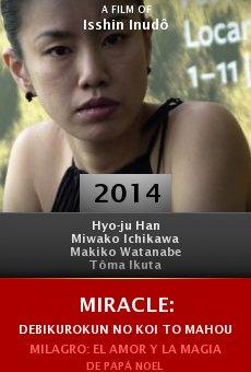 Ver película Miracle: Debikurokun no koi to mahou