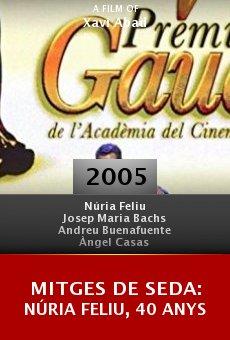 Mitges de seda: Núria Feliu, 40 anys online free