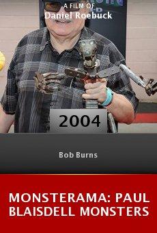Monsterama: Paul Blaisdell Monsters online free