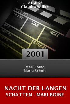 Nacht der langen Schatten - Mari Boine online free