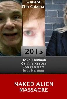 Ver película Naked Alien Massacre