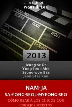 Ver película Nam-ja sa-yong-seol-myeong-seo