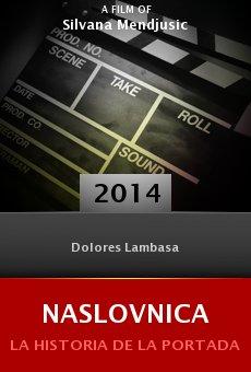 Ver película Naslovnica