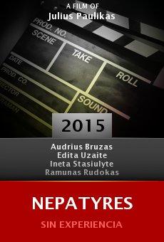 Ver película Nepatyres