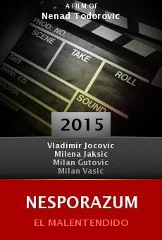 Watch Nesporazum online stream