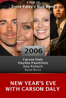 New Year's Eve with Carson Daly online free