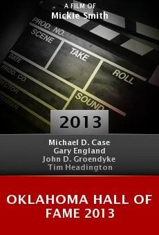 Ver película Oklahoma Hall of Fame 2013
