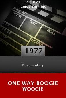 Ver película One Way Boogie Woogie