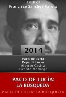 Ver película Paco de Lucía: la búsqueda