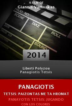 Ver película Panagiotis Tetsis: Paizontas me ta hromata