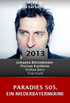 Paradies 505. Ein Niederbayernkrimi online