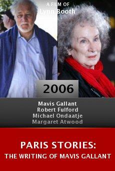 Paris Stories: The Writing of Mavis Gallant online free