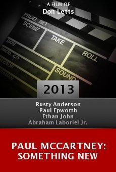 Watch Paul McCartney: Something New online stream