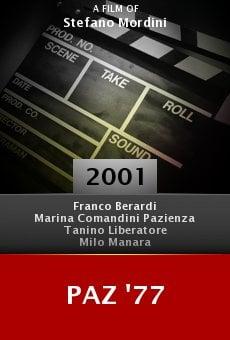 Paz '77 online free