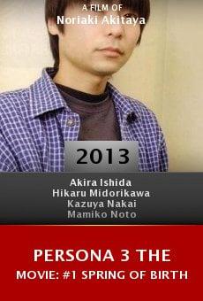 Watch Persona 3 the Movie: #1 Spring of Birth online stream