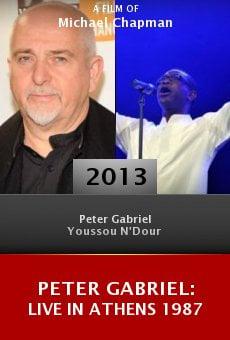 Ver película Peter Gabriel: Live in Athens 1987