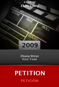 Ver película Petition