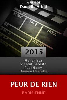 Ver película Peur de rien