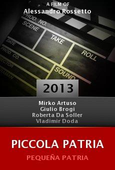 Watch Piccola patria online stream