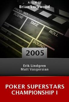 Poker Superstars Championship I online free