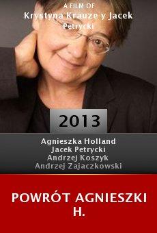 Ver película Powrót Agnieszki H.