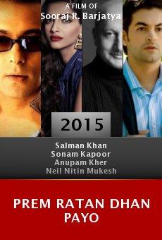Ver película Prem Ratan Dhan Payo