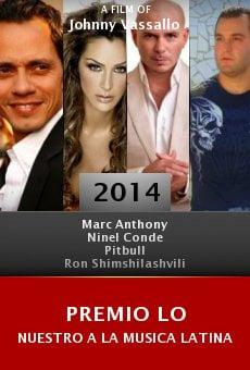 Premio lo Nuestro a la musica latina online