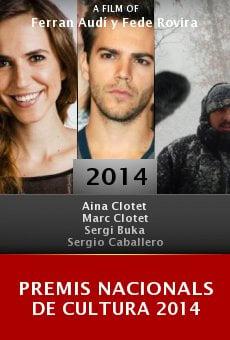 Premis Nacionals de Cultura 2014 online