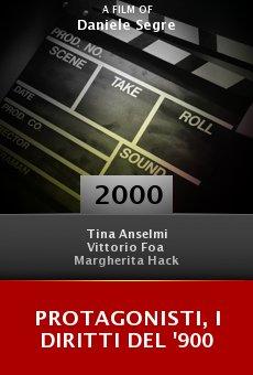 Protagonisti, i diritti del '900 online free