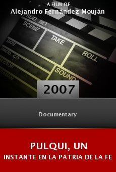 Ver película Pulqui, un instante en la patria de la felicidad