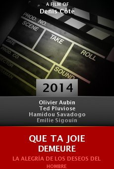 Ver película Que ta joie demeure