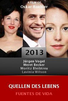 Ver película Quellen des Lebens