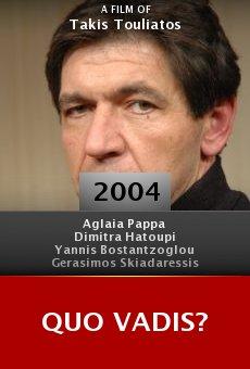 Quo Vadis? online free