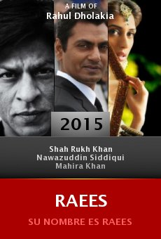 Watch Raees online stream