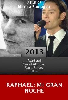 Watch Raphael: Mi gran noche online stream