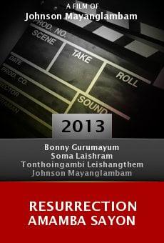 Ver película Resurrection Amamba Sayon