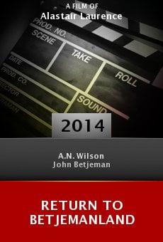 Return to Betjemanland online