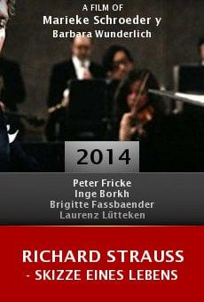 Ver película Richard Strauss - Skizze eines Lebens