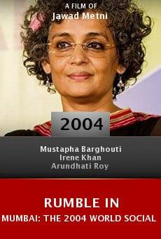 Rumble in Mumbai: The 2004 World Social Forum online free