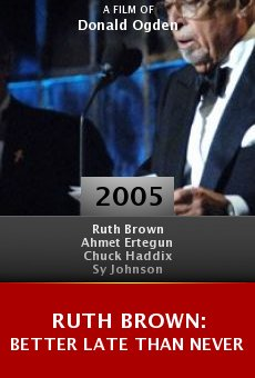 Ruth Brown: Better Late Than Never online free