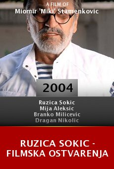 Ruzica Sokic - filmska ostvarenja online free