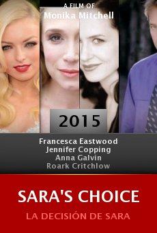 Sara's Choice online
