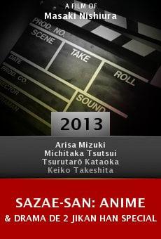 Sazae-san: Anime & Drama de 2 jikan han special online